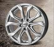Alutec W10X Polar Silver 8.5xR19 ET45 5*120 D72.6