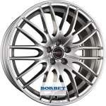 Borbet CW4/5 Sterling Silver 8.5xR19 ET45 5*114.3 D72.5